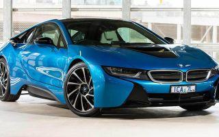 BMW i8 дизайн 2014 года