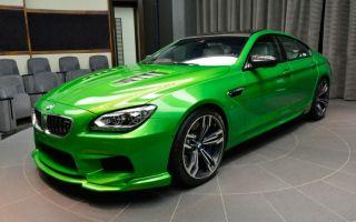 BMW M6 Gran Coupé в цвете Java Green-индивидуальность высшего порядка