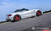 Стимпанк — проект: ателье Carlex Design представило родстер BMW Z4 в необычном амплуа