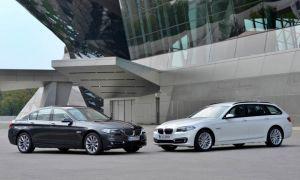 BMW 5 Series с двигателем B47 — новые снимки 520d (190 л.с.) и 518d (150 л.с.)