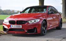 Седан BMW M3 F80 в цвете Imola Red