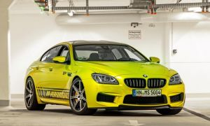 PP-Performance — BMW M6 Gran Coupé с фольгированием цвета Electric Lime