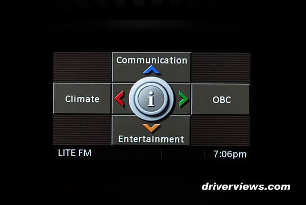 BMW iDrive с сенсорным экраном